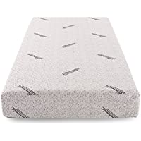 Cr Sleep Memory Foam Mattress with Gel-infused AirCell Technology, 8-Inch, Bamboo Cover, TWIN