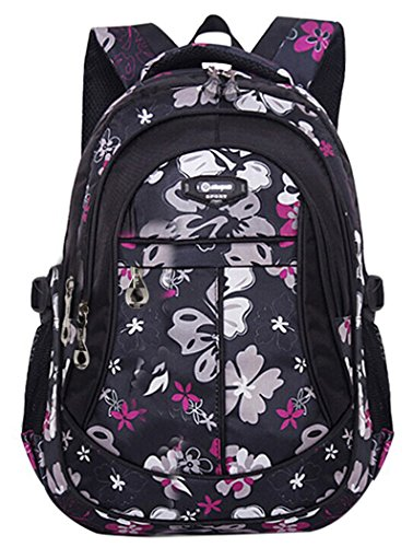 Tinksky Backpack Flowers Backpacks Students