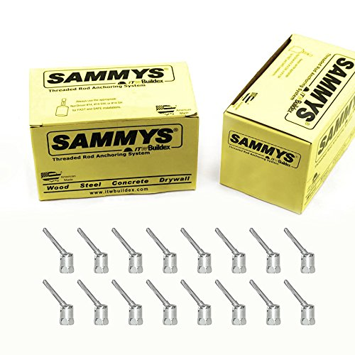 Everflow Sammys 8268957-50 SH-TEK 5.0 3/8 Inch Screw Swivel Head Designed for Steel, Installs Vertically & Swivels up to 17 Degree, No-Predrilling Required, Steel Electro-Zinc Finish - (Pack of 50)