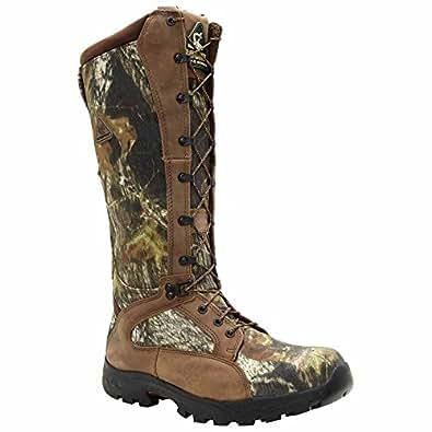 Rocky Men's FQ0001570 Knee High Boot, Mossy Oak Break up Camouflage, 8 W US