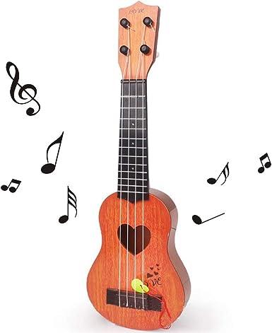 kabinga Caqui Guitarra de simulación, Juguete Musicales para niños ...