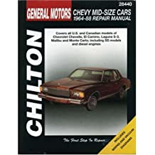 GM Chevy Mid-Size Cars 1964-88