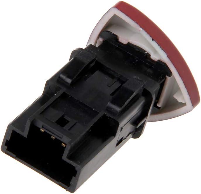planuuik Emergency Hazard Flasher Warning Light Switch For Renault Laguna Master Trafic II Vauxhall