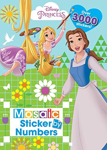 Disney Princess Mosaic Sticker Book