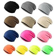 ILOVEDIY Unisex Cotton Knit Slouchy Beanie Baggy Beret Hat Hip-hop Cap Men Women