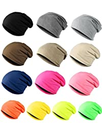 ILOVEDIY Unisex Cotton Knit Slouchy Beanie Baggy Beret Hat Hip-hop Cap Men Women