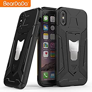 IPhone 8 Shockproof Unique Design Case (Black)