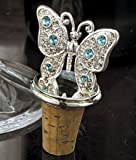 Silverplated Butterfly Bottle Stopper by Godinger