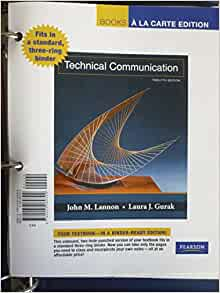 Amazon. Com: mytechcommlab with pearson etext - standalone access.