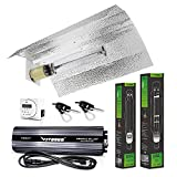 VIVOSUN Hydroponic 1000 Watt HPS MH Grow Light Wing Reflector Kit - Easy to set up, High Stability & Compatibility (Enhanced Version)