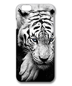 Bue Eyed Tiger Portrait Protective Hard PC Snap On 3D Case for iphone 6 4.7-1122045