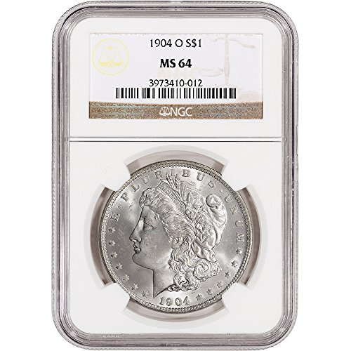 (1904 O US Morgan Silver Dollar $1 MS64 NGC)