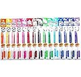 Pilot Hi-Tec-C Coleto Gel Ink Pen Refill 0.4mm, 15-color Set(Japan Import) [Komainu-Dou Original Package]