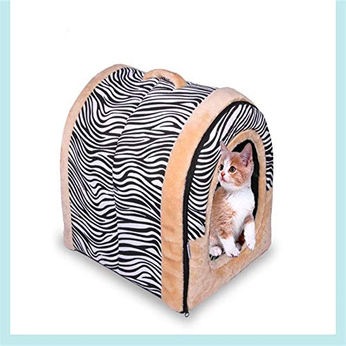 Byx- Nido para mascotas: jaula para gatos desmontable y lavable ...