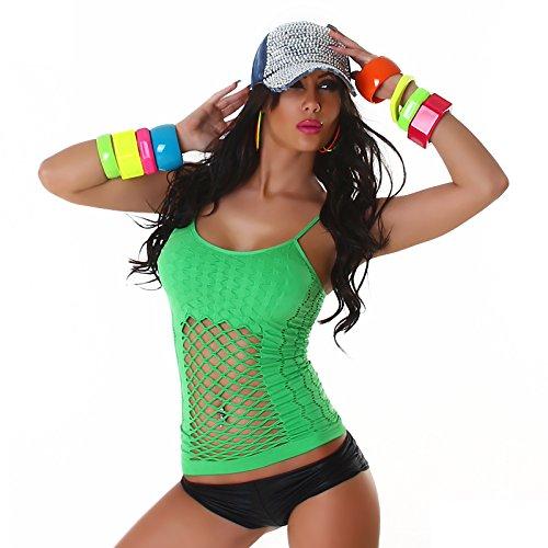Tizi - Camiseta sin mangas - Básico - para mujer Verde