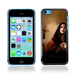 MMZ DIY PHONE CASEYOYOSHOP [Goth Woman Priest Vampire] Apple iphone 5/5s Case