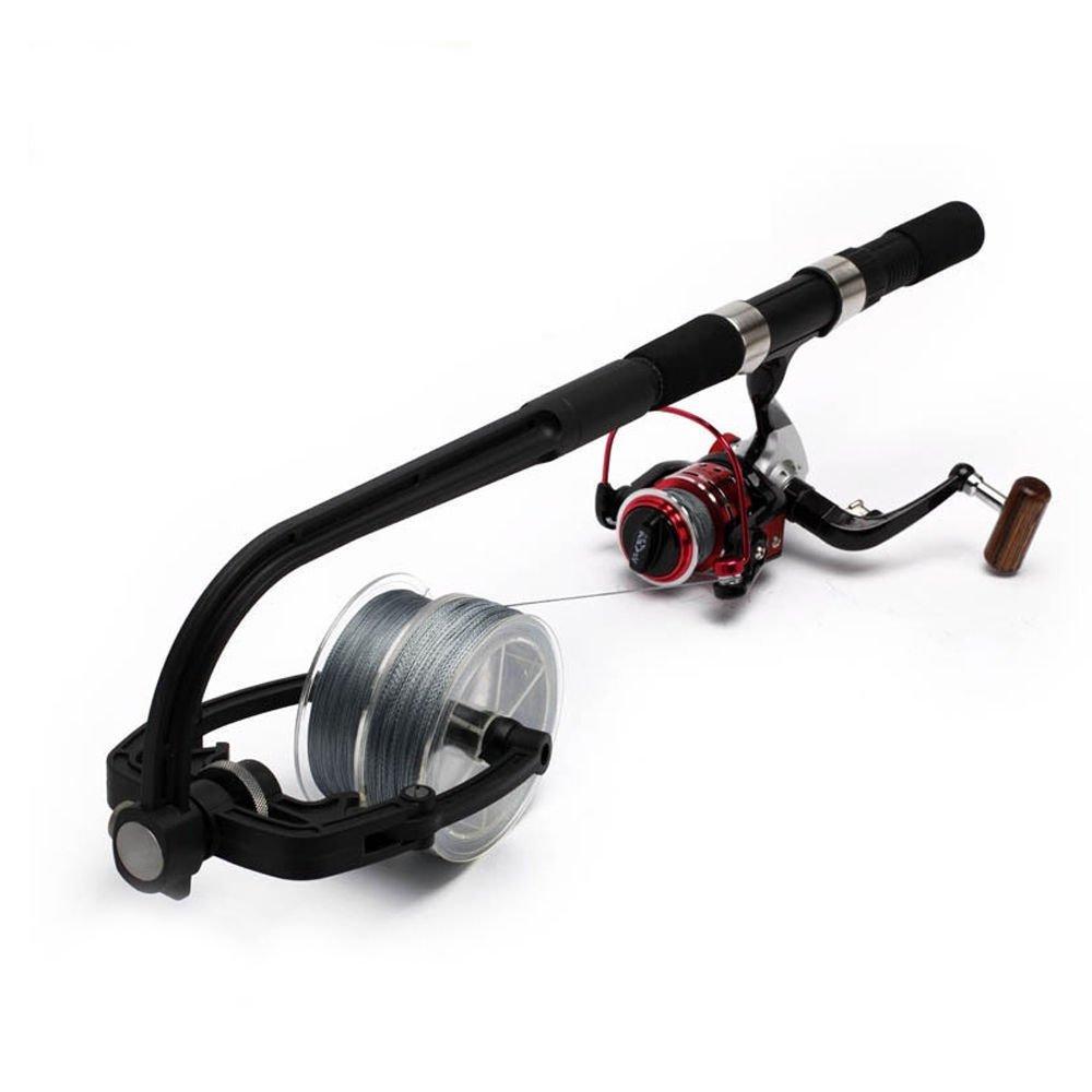 FidgetFidget Fishing Reel Line Spooler Winder Line Winding System Portable Spooling Station