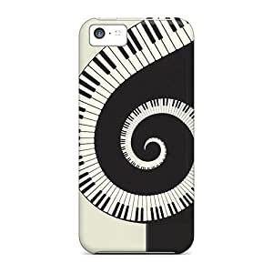 Hot New Piano Swirl Case Cover For Iphone 5c With Perfect Design