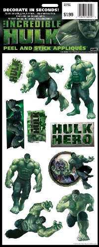 RoomMates RMK0096SS The Hulk Peel & Stick Single Sheet