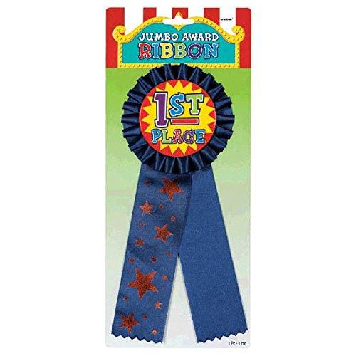 amscan Rosette Jumbo Award Ribbon, Party -