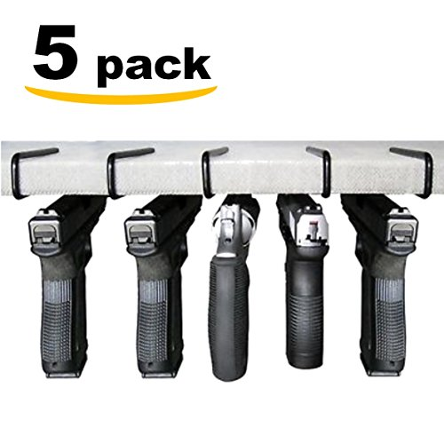 Fixxxer Easy Use Gun Hanger Pack of 5 Original Handgun Hangers
