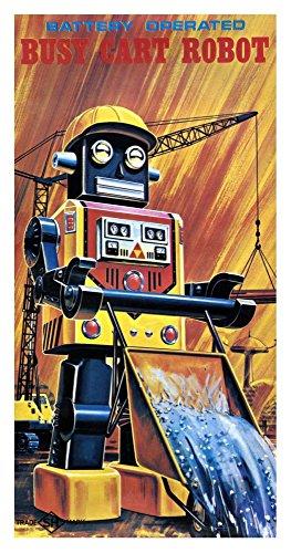 Busy Cart Robot - 2