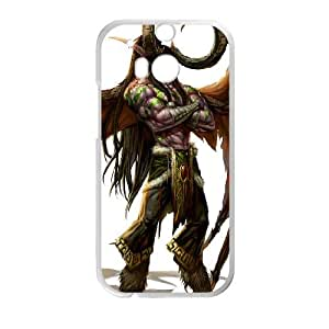 world of warcraft HTC One M8 Cell Phone Case White PSOC6002625639621