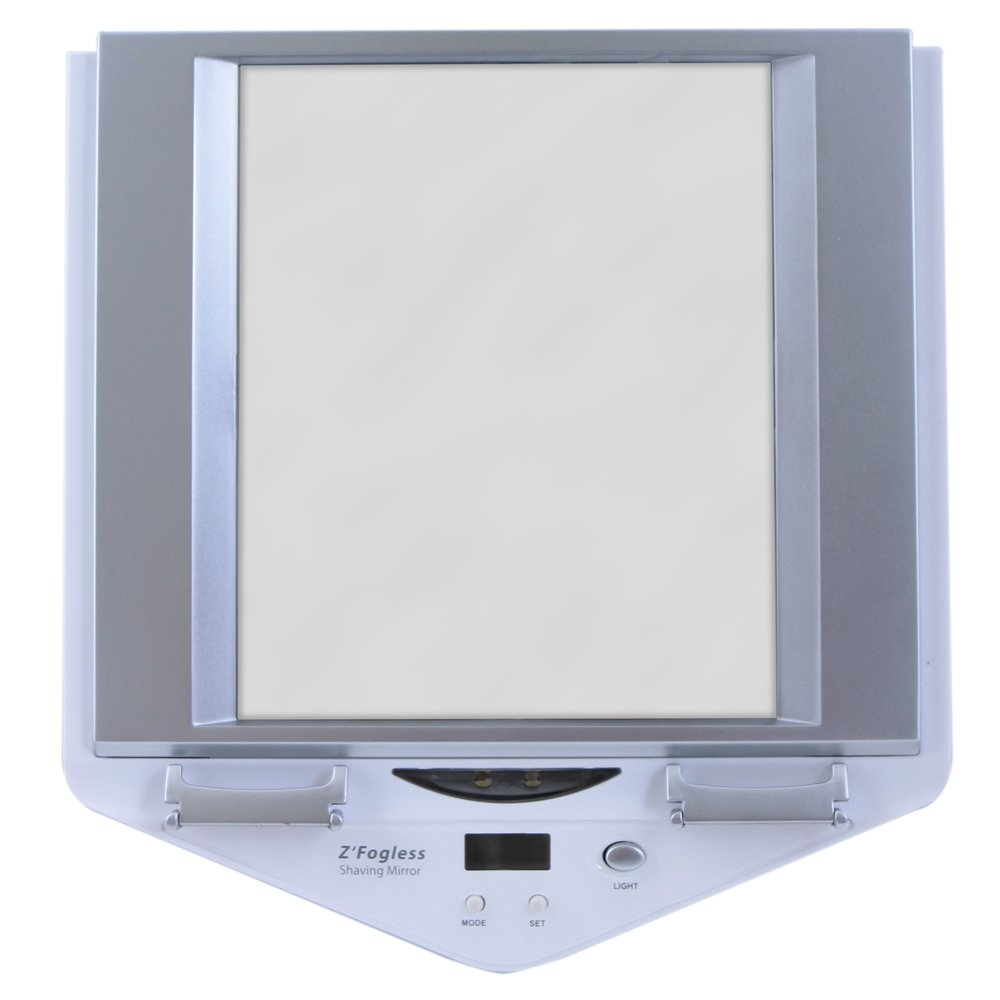 Amazon.com : Zadro Zu0027Fogless Lighted Shower Mirror, White Finish : Shwer  Mirror : Beauty