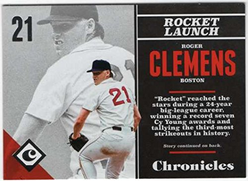 (2017 Panini Chronicles Baseball #76 Roger Clemens Boston Red Sox)