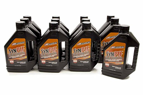 Maxima Racing Oils 89-01901 Power Steering Fluid Synthetic Case, 384 fl. oz. by Maxima