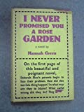 download ebook i never promised you a rose garden : a novel by hannah green (1964-11-08) pdf epub