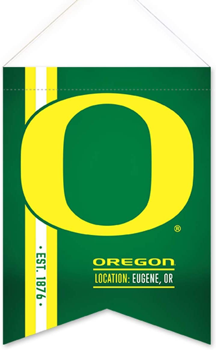 Rico Oregon Ducks Soft Felt Hanging Scroll Flag 18 x 24 inches