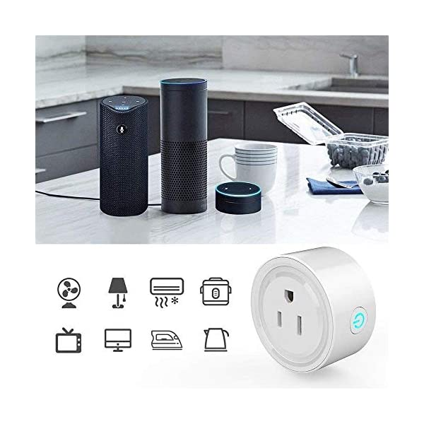 Smart-Plug-2-Pack-Mini-Smart-Outlet-WiFi-Smart-Switch-Compatible-with-Alexa-Google-Home-No-Hub-Required-Remote-Control-Your-Device-from-Anywhere-Timing-Function