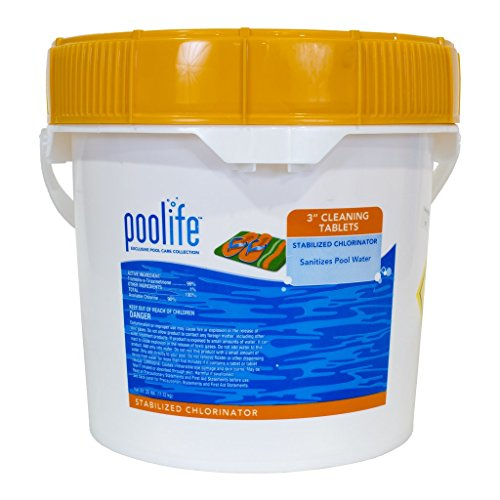 POOLIFE 3 Inch Cleaning Tablets (25 lb)