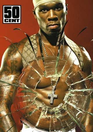 50 CENT POSTER Get Rich or Die Trying RARE HOT 24x36 by HSE