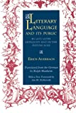 Literary Language and Its Public in Late Latin Antiquity and in the Middle Ages