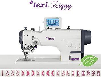 TEXI de la Industria de Coser–Zigzag y Puntada Recta–Completamente Automático–La Industria Máquina de Coser industriales–Completo (con Mesa y Estructura)