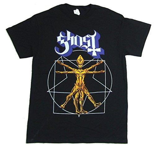 Ghost B.C. Popestar Man N.A. 2016 Black T Shirt (M) B C Mens Bands