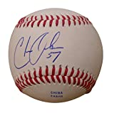 Milwaukee Brewers Chase Anderson Autographed Hand Signed Baseball with Proof Photo of Signing and COA, Arizona Diamondbacks
