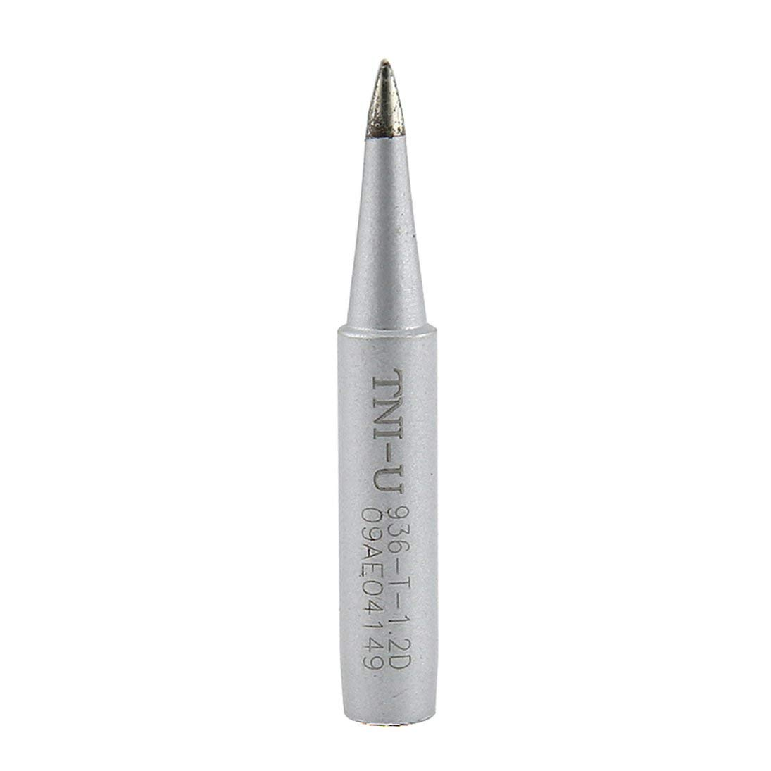 Baynne 1 Pcs Solder Soldering Iron Tip Welding Iron Head Tool Replacement for 936 Rework Station