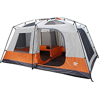 World Famous Sports 8-Person 2-Room Cabin C&ing Tent  sc 1 st  Amazon.com & Amazon.com : World Famous Sports 8-Person 2-Room Cabin Camping ...