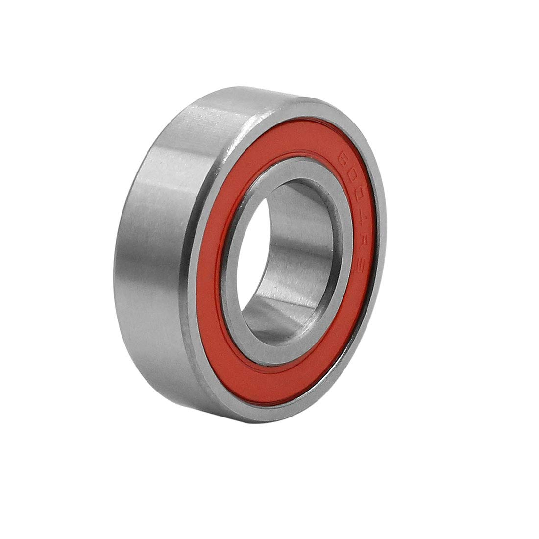 Sourcingmap 6004RS Deep Groove Sealed Shielded Ball Bearing Universal 10pcs