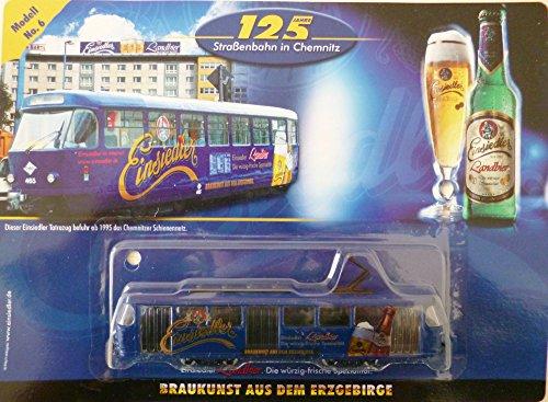 Straßenbahn-Modell - Einsiedler Brauerei Nr. 6 - Tatrabahn T3D anno 1994