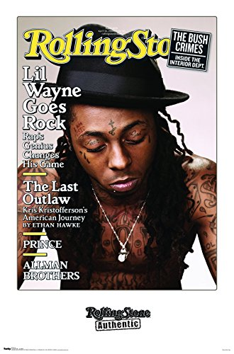 Trends International Wall Poster Rolling Stone Magazine Lil Wayne, 22.375