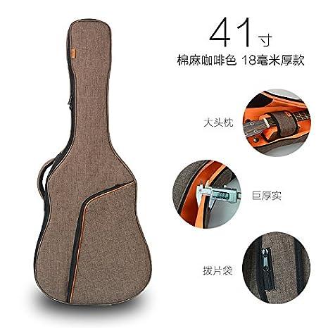 Yinyuetiantang@ 41 Pulgadas Bolsa, Bolsa De Guitarra Guitarra ...