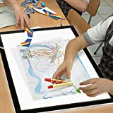 LED Light Pad Box A3 Drawing Board Artcraft Tracing 5mm Ultra-thin Portable Light Box for Drawing Artists Sketching Animation Tattoo Transferring Easter Children's Day Gift 2017NEW!