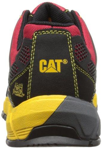 Cat Footwear Streamline CT S1P, Scarpe Antinfortunistiche da Uomo Rosso (True Red)