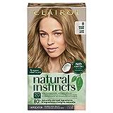 Clairol Natural Instincts Semi-Permanent Hair Dye, 8 Medium Blonde Hair Color, 1 Count