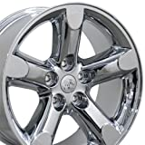 2012 dodge ram 1500 rims - 20x9 Wheel Fits Dodge, RAM Trucks - RAM 1500 Style Chrome Rim, Hollander 2267