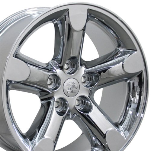 OE Wheels 20 Inch Fits Chrysler Aspen Dodge Dakota Durango Ram 1500 RAM 1500 Style DG56 20x9 Rims Chrome ()